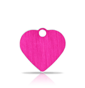 TaggIT Hi-Line Small Heart Pink iMarc Pet Tag