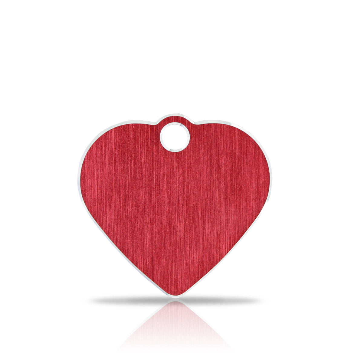 TaggIT Hi-Line Aluminium Red Small Heart iMarc Pet Tag