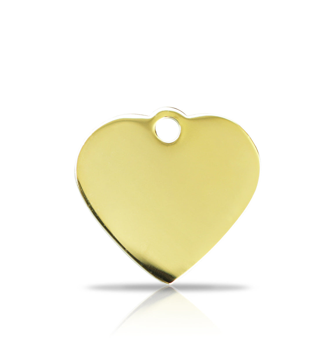 TaggIT Prestige Small Heart Gold iMarc Pet Tag