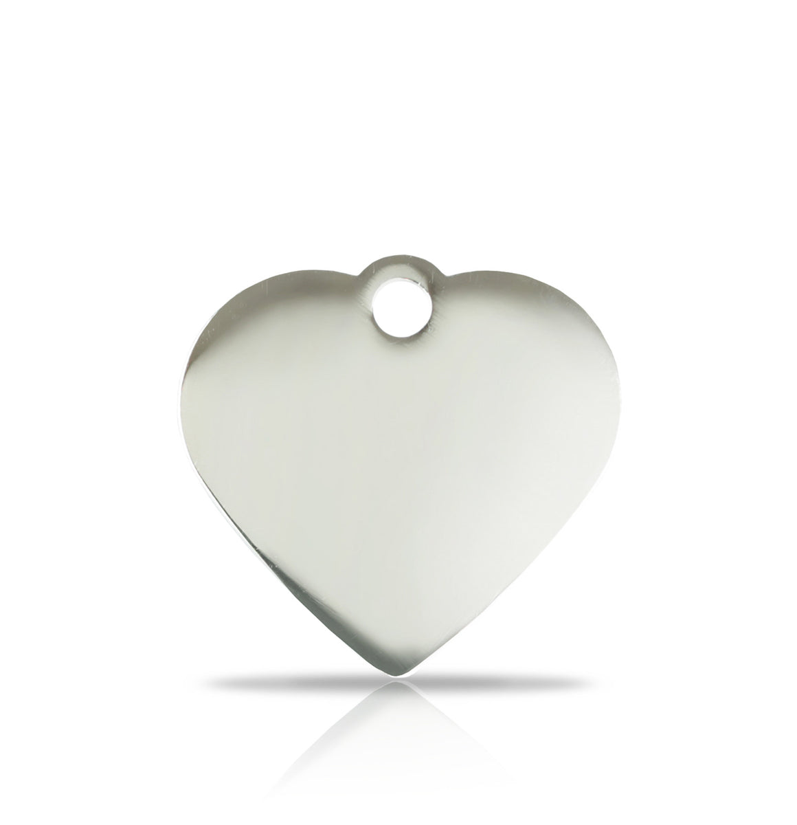 TaggIT Prestige Small Heart Silver iMarc Pet Tag