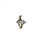Electra 18ct White Gold 0.75pt Marquise Diamond Ring