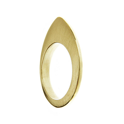 Flat Top Ring 9ct Yellow Gold