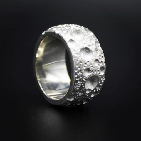 Moon Silver 12mm Band