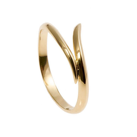 Tulip 18ct Yellow Gold Wedding Ring