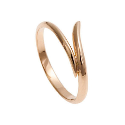 Tulip 18ct Rose Gold Wedding Ring