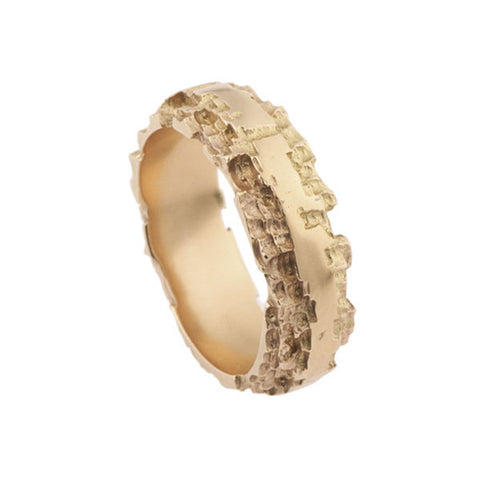 Luna 18ct Rose Gold 6mm Band