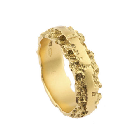Luna 18ct Yellow Gold 6mm Band
