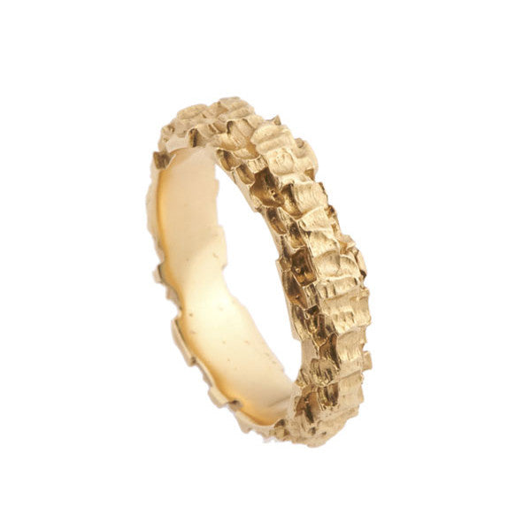 Luna 18ct Yellow Gold 5mm Band