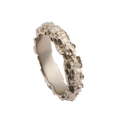 Luna 18ct White Gold 5mm Band