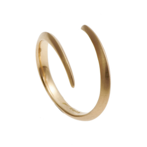 Triffid 18ct Rose Gold VR3 Coil Wedding Ring