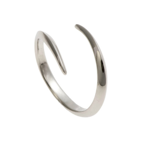 Triffid 18ct White Gold VR3 Coil Wedding Ring