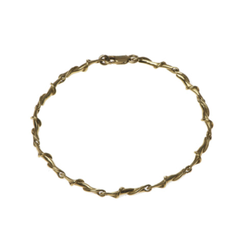 Entwine 18ct Yellow Gold Link Bracelet