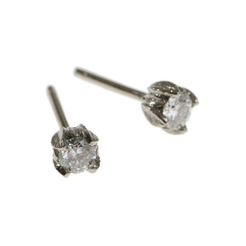 Collette 18ct White Gold .30pt Diamond Studs