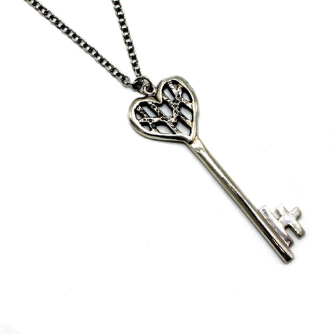 House of Hoye Silver Key Necklace