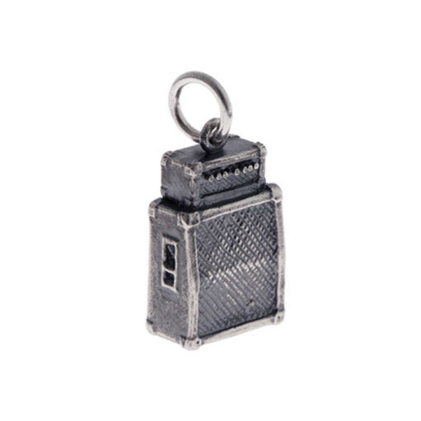 Silver Amplifier Charm