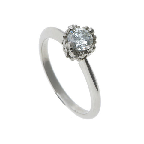 Collette Platinum 0.50pt Diamond Ring