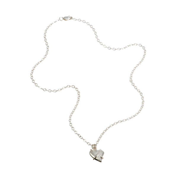 Entwine Heart Charm Necklace