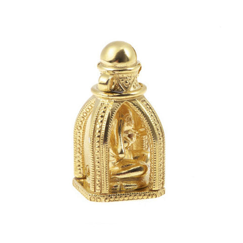 Gold Plated Silver Genie In A Bottle Charm