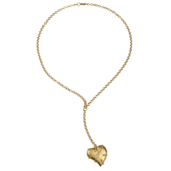 Entwine 9ct Yellow Gold Large Locket Necklace