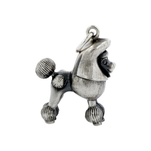Silver Doodle The French Poodle Charm