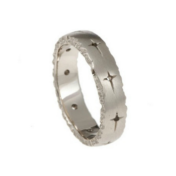 Trinity 18ct White Gold 5mm Band