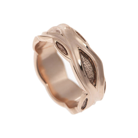 Libertine 9ct Rose Gold 9mm Band