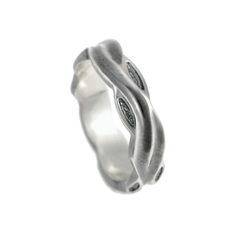 Libertine Silver 5mm Band