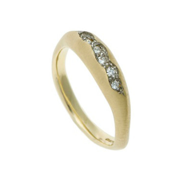 Triffid 18ct Gold VR1 Fine Diamond Ring