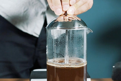 French Press zubereiten