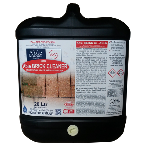 Brick Cleaning Chemicals Able Westchem