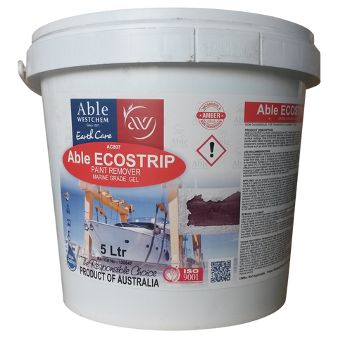 Able Ecostrip - Paint Remover Marine Grade Gel