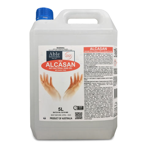 Alcasan - Alcohol Hand Sanitising Gel