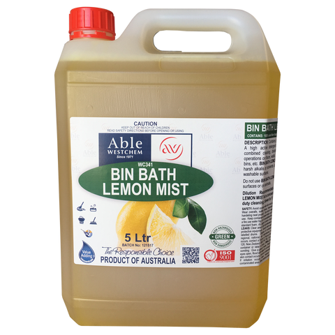 Bin Bath - Cleaner & Insect Repellent