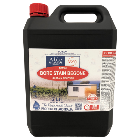 Bore Stain Begone - Heavy duty bore stain remover