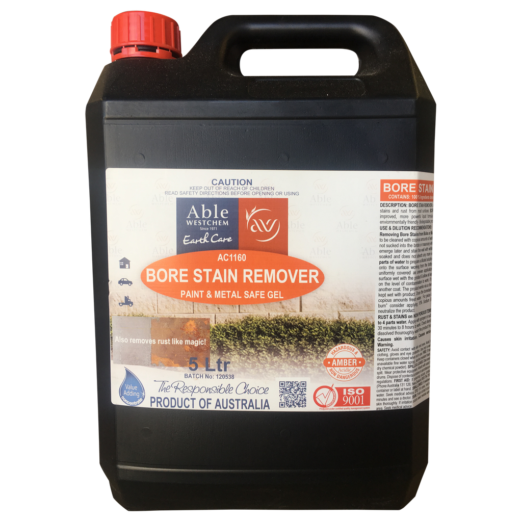 Concrete Stain Remover >> Bore Stain Remover Able Westchem