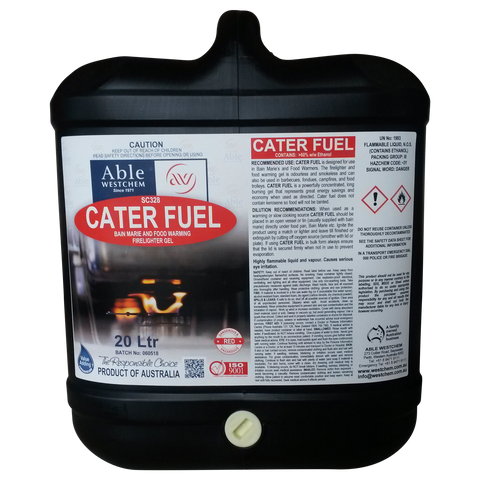 Cater Fuel - Baine Marie Lighting Gel