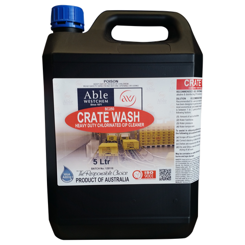 Cratewash & HD CIP Cleaner