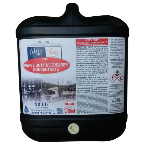 HD Degreaser Concentrate - AC602