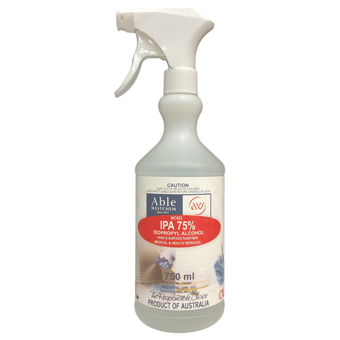 IPA 75% - Hand & Surface Sanitiser