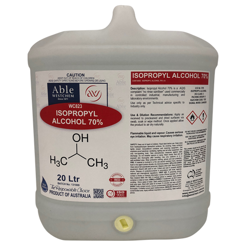 Isopropyl Alcohol 70% (IPA)