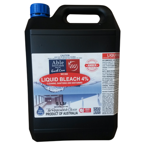 Liquid Bleach 4%