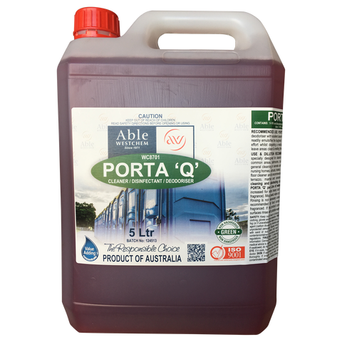Porta 'Q' - Cleaner & Disinfectant