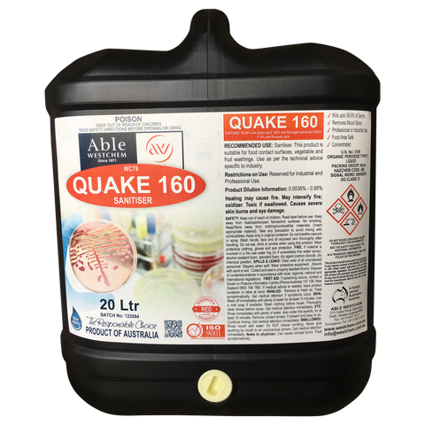 Quake 160 - Produce Sanitiser