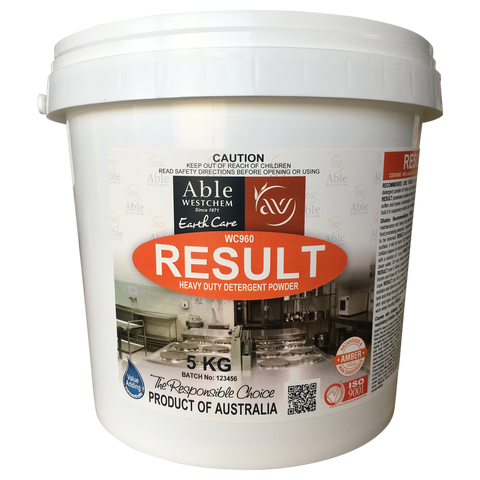 Result - Degreasing Powder