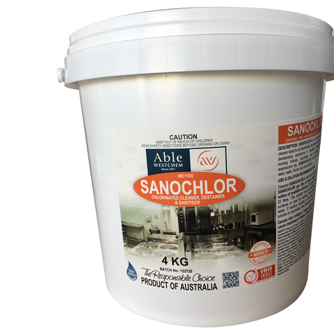Sanochlor Powder - Bactericide Cleaner