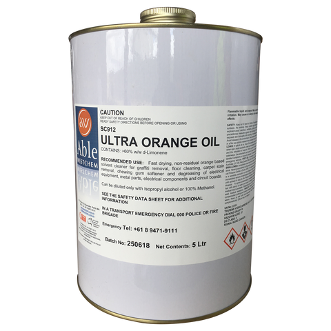 Ultra Orange Oil
