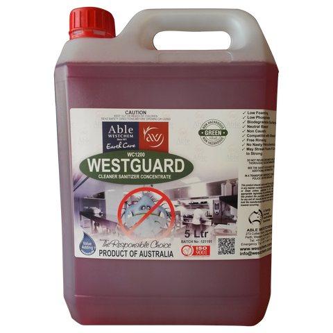 Westguard - Sanitising Spray & Wipe
