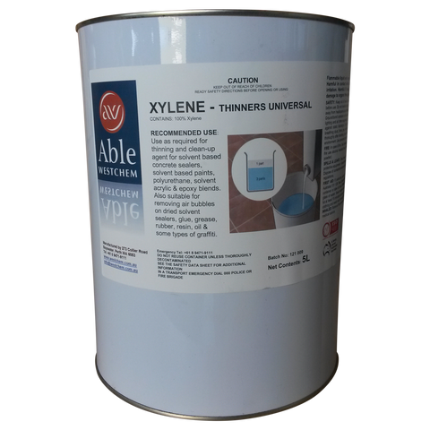 Xylene Thinners Universal