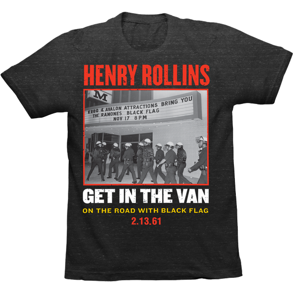 Henry Rollins - Get In The Van T-Shirt