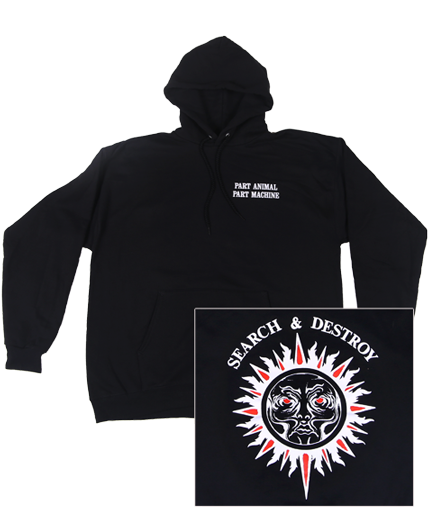 Henry Rollins- Search & Destroy Hoodie